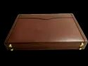 Veg Tanned Small Leather Attache