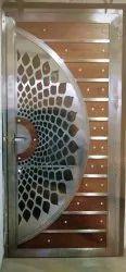 Wooden Mix Steel Door for Home