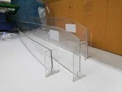 Acrylic Shelf Dividers