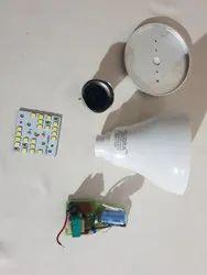 Cool Daylight Ceramic 9W DOB series Bulb raw materials