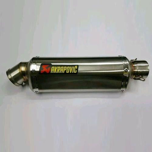 Exhaust Silencer - Akrapovic Cobra Stainless Steel Exhaust
