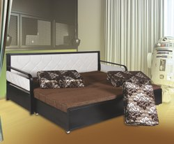 Decorative metal Folding Sofa Cum Bed, For Home