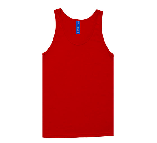 88ff400f0cb66 Men Solid Red Tank Top at Rs 345  piece