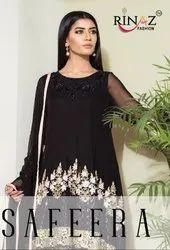 Rinaz Fashion Safeera Pakistani Style Salwar Kameez Catalog Collection at Textile Mall Surat