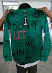 Men Printed Cotton T-Shirt