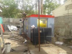 Generator Canopy Fabrication