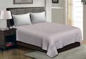 Beige color Cut Work Cotton Double Bedsheet