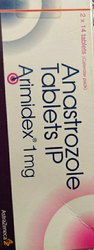 Arimidex Tablets, Astra Zeneca, Treatment: Breast Cancer
