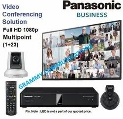 Panasonic Video Conferencing System: Multipoint 24-Sites Connection with 3x Optical Zoom