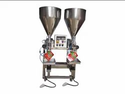 semi automatic piston filler machine