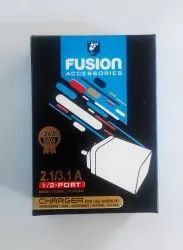 FUSION USB CHARGER 2.1 AMP DOC
