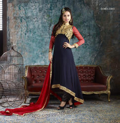 Ladies Traditional Heavy Dress Material