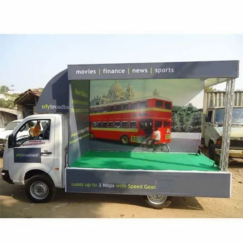 Outdoor Advertisement Van Promotion