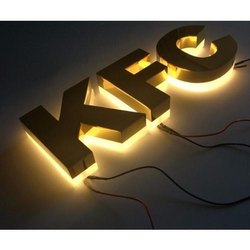 Steel Led Letters