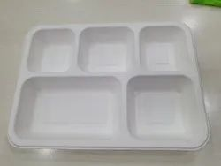 Biodegrable Plastic Plate 5 cp Biodegradable, for Event and Party Supplies