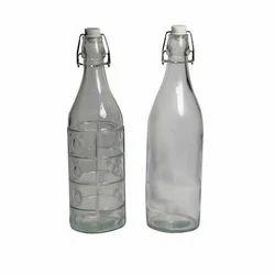 Transparent Water Glass Bottle, Capacity: 1.5 Litre