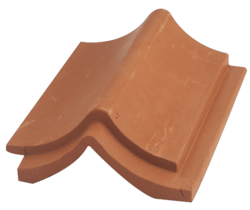 Japan Dutch Clay Roof Tile