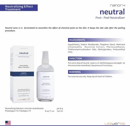 Neutral Post-Peel Neutralizer, Personal Care & Cosmetic