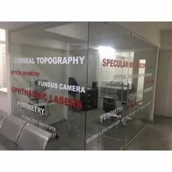 Office PVC Glass Film Services, Packaging Type: Roll