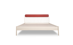 Godrej Liva Queen Bed With Piano Headboard- Without Storage