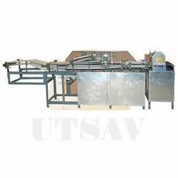 SS Semi Automatic Papadam Making Machine, For Commercial, Capacity: 250kg/Hour