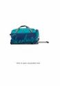 Skybags Unisex Polyester Blue Soft Duffle Trolley Bag