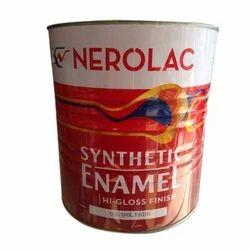 Nerolac Enamel Paint White 1lit, Pack Size: 1 Litre
