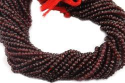 Mozambique Garnet Faceted Beads