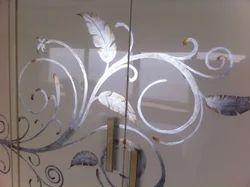 TGLS 3*3 Gilding Silver Leafing Gilding On Glass Art Work
