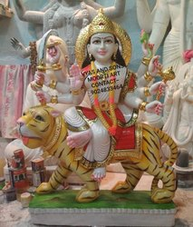 Marble Durga Maa Moorti