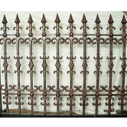 Traditional Cast Iron Railing