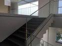 Staircase Aluminum Profile Glass Railing