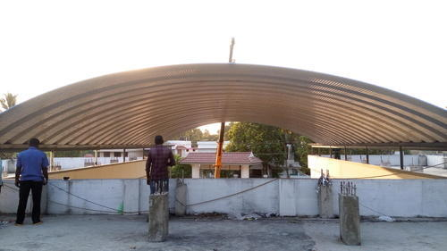 Trussless Terrace Roofing Shed At Rs 210 Square Feet