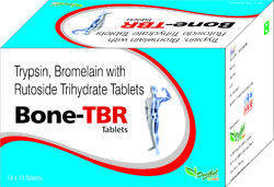 Trypsin, Bromelain, with Rutoside Trihydrate Tablets