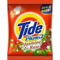 Washing Powder Jasmine Tide Detergent Powder, Packaging Type: Packet, for Laundry