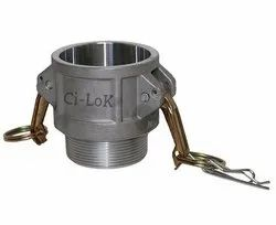 Aluminium Camlock Male Coupling Type - B