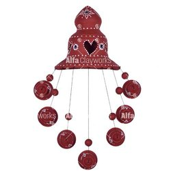 Terracotta Hanging Bells
