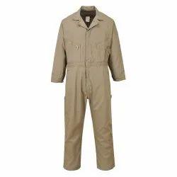 Zipper Cotton Coverall