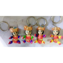 Special Rajasthani Puppet Key Chain
