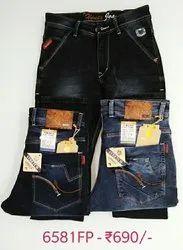 Hanex Premium Distressed Denim Jeans For Men