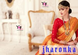 Jharonka Vol 4 Kanjivaram Art Silk Saree by Yadu Nandan Fashion