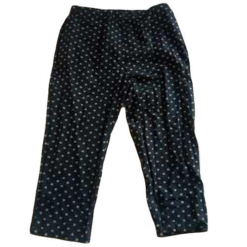 9c45ae2552adcc Ladies Cotton Black Dotted Pant, Rs 350 /piece, Almoda Apparels | ID ...