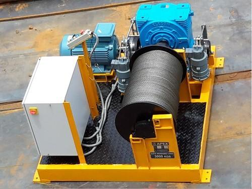 Industrial Winch - Electric Power Winches Manufacturer from Chennai