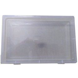 Rectangle Ruby 15 x 3 Inch Plastic Square Box