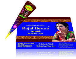 Kajal Henna Mehandi Cone Brown Wrapper