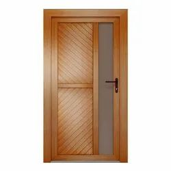 Hinged Polished PVC Hollow Doors