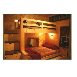 Bunkhouse with Bed