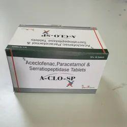 Aceclofenac  Serratiopeptidase