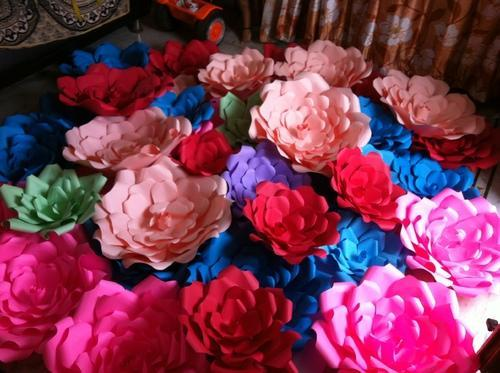 Giant paper flowers whole sale various types at rs 100 each giant paper flowers whole sale various types mightylinksfo