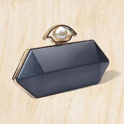 Designer Box Clutch Frame